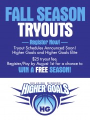 2015 FALL TRYOUT