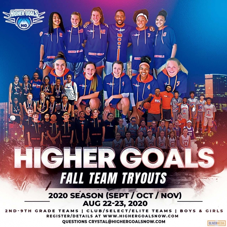 Updated 2020 Fall Season Tryout Flyer General Promo