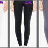 Standard Cursive Design Leggings – Yoga Fitted