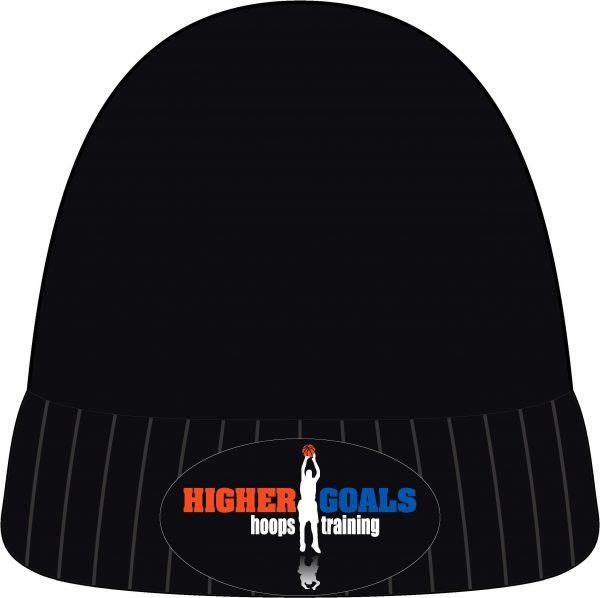 Black Beanie - Higher Goals Hoops Training