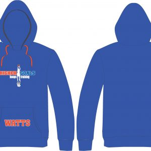 Blue Hoodie Shooter Logo